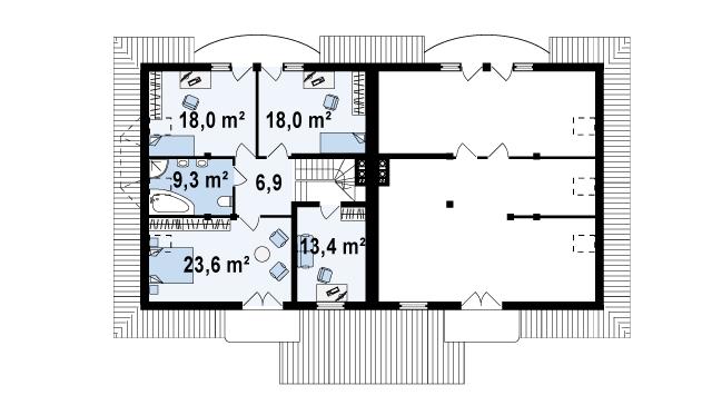 Готові проекти будинків, та їх план