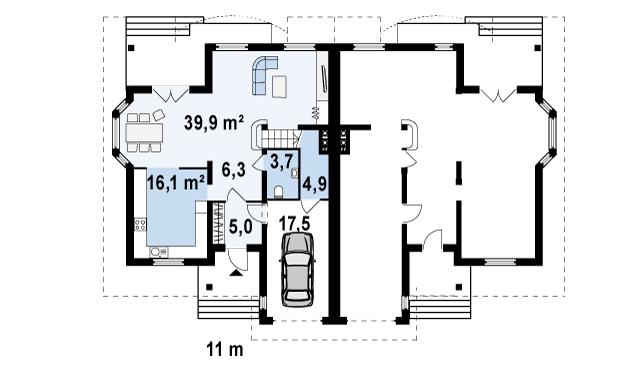 Готовий проект будинку