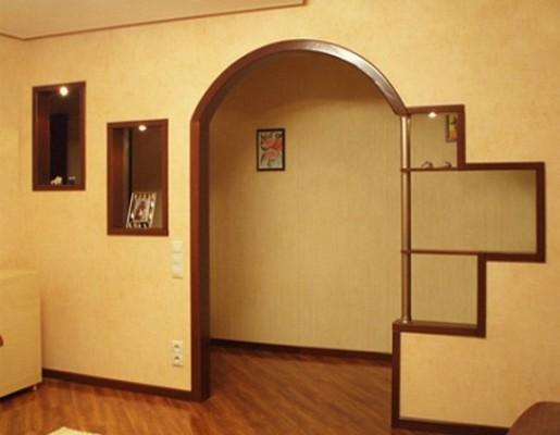 Приклади фотографій міжкімнатних арок.