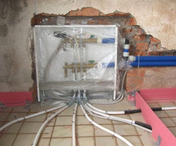 Тепла водяна підлога - монтаж своїми руками