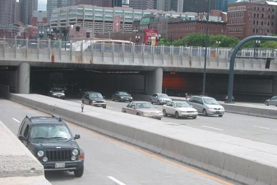 Великий Бостонський Тунель у США