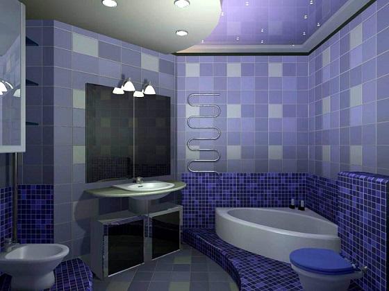 Красивий дизайн ремонту ванних кімнат - фото