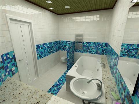 Фото ремонту ванних кімнат - дизайн