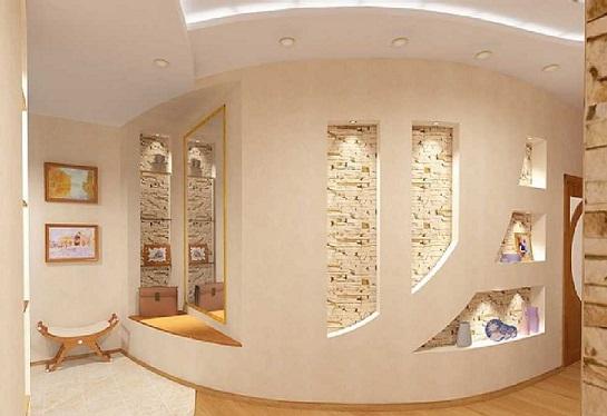 Гіпсокартонові стіни - монтаж, влаштування, кріплення.