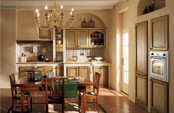 Дизайн інтер'єру меблів у стилі Прованс-фото