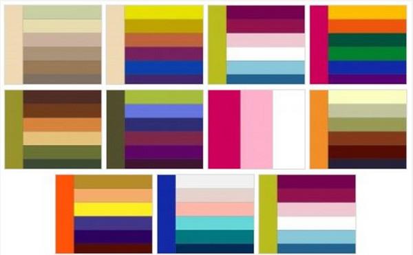Схема кольорів для інтерєру в кімнаті