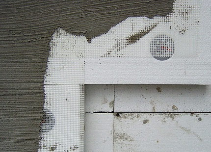утеплення фасадів будинків пінопластом