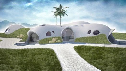 Будівництво купольних будинків із надувного бетону