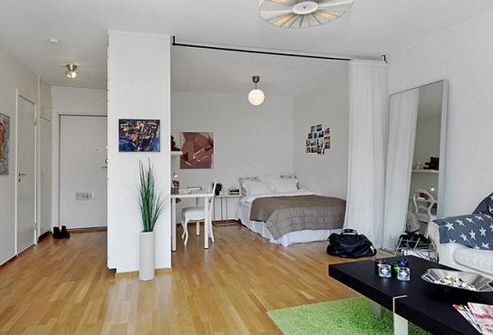 Квартира студіо, або нова за назвою one bedroom.
