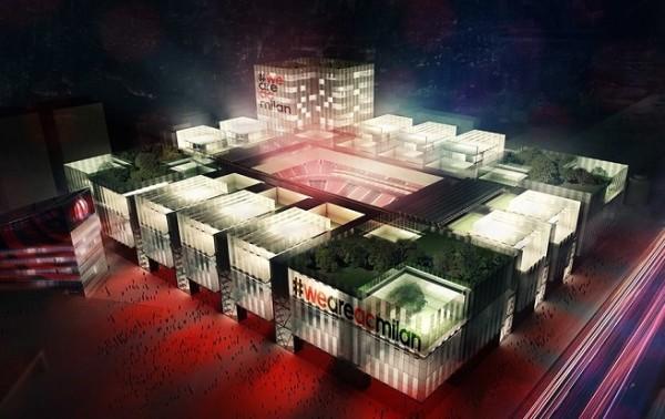 Будівництво нового стадіону в Мілані