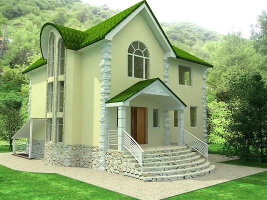 колір стін будинку