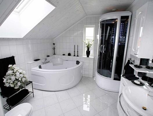 Дизайн ванної кімнати, як на  фото.
