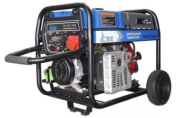 Дизельний генератор електроенергії.